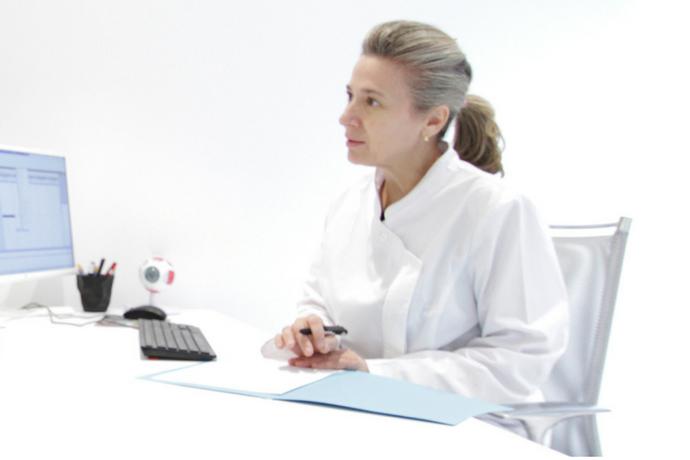 La Dra. Alicia Verdugo, especialista en cirugía del glaucoma