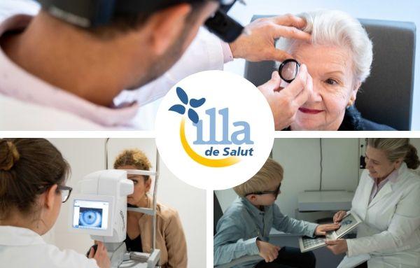 Visioncore, mejor clínica oftalmológica de BCN, en Illa de Salut Sils