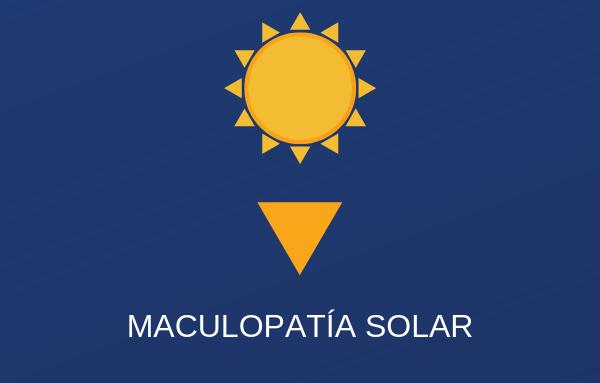 Urgencias oftalmológicas Barcelona_Maculopatía solar